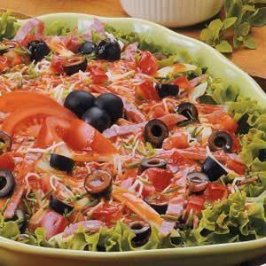 Pizza Antipasto Salad