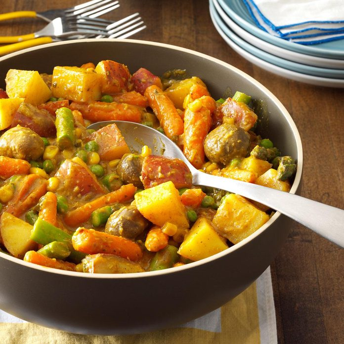 Creamy Curry Vegetable Stew