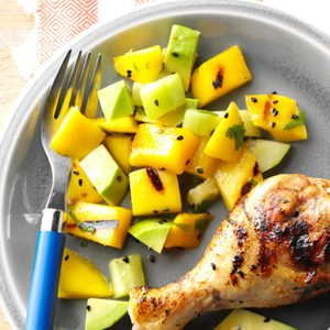 Grilled Mango & Avocado Salad