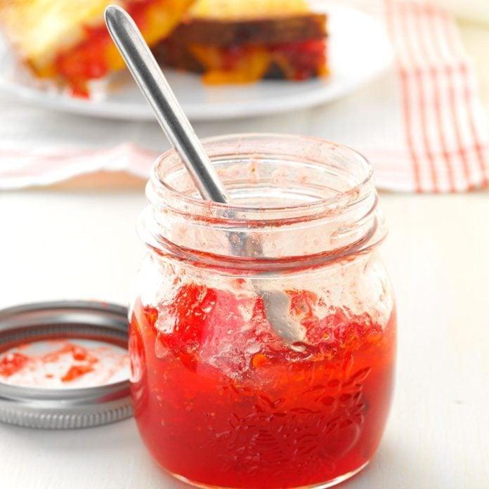 Smoky & Sweet Strawberry Chipotle Jam