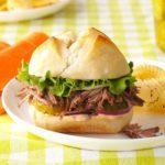 Zesty Italian Beef Sandwiches