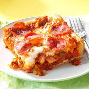 Quick & Easy Deep Dish Pizza