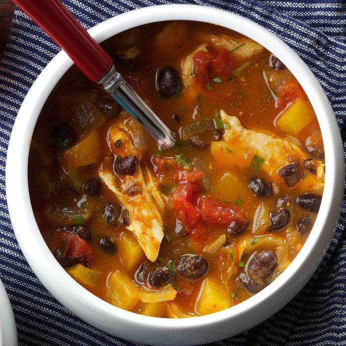 Black Bean & Pumpkin Chili