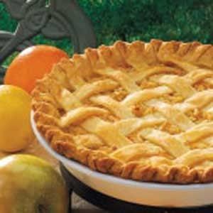Citrus Apple Pie