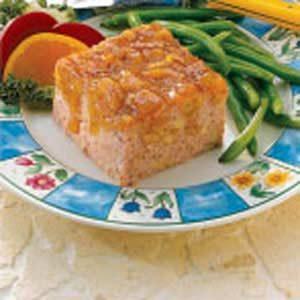 Marmalade-Glazed Ham Loaf