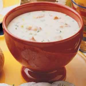 Pantry-Shelf Salmon Chowder