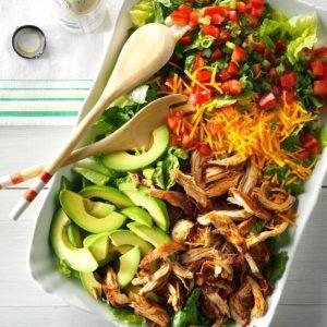 Slow Cooker Chicken Taco Salad