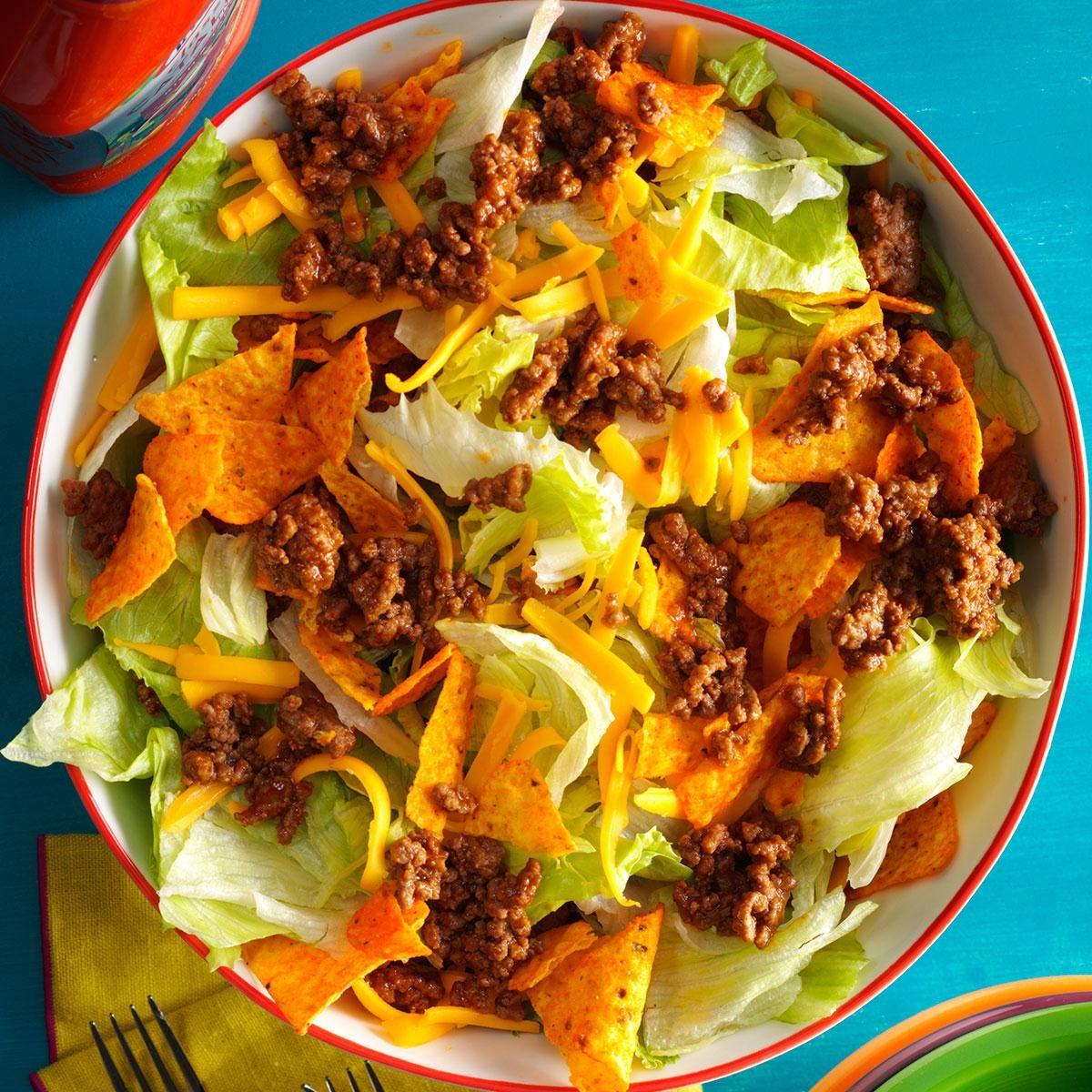 Taco Salad Recipe Ground Chicken