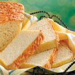 Cheddar-Topped English Muffin Bread