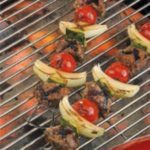 Greek Lamb Kabobs
