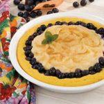 Blueberries 'n' Cream Pie