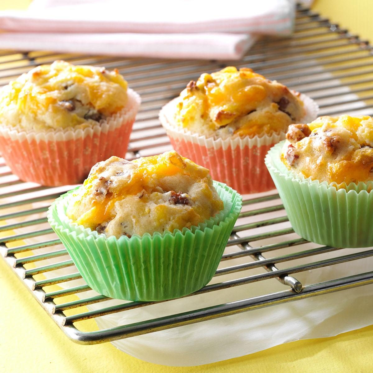 On The Go Breakfast Muffins Recipe How To Make It Taste Of Home