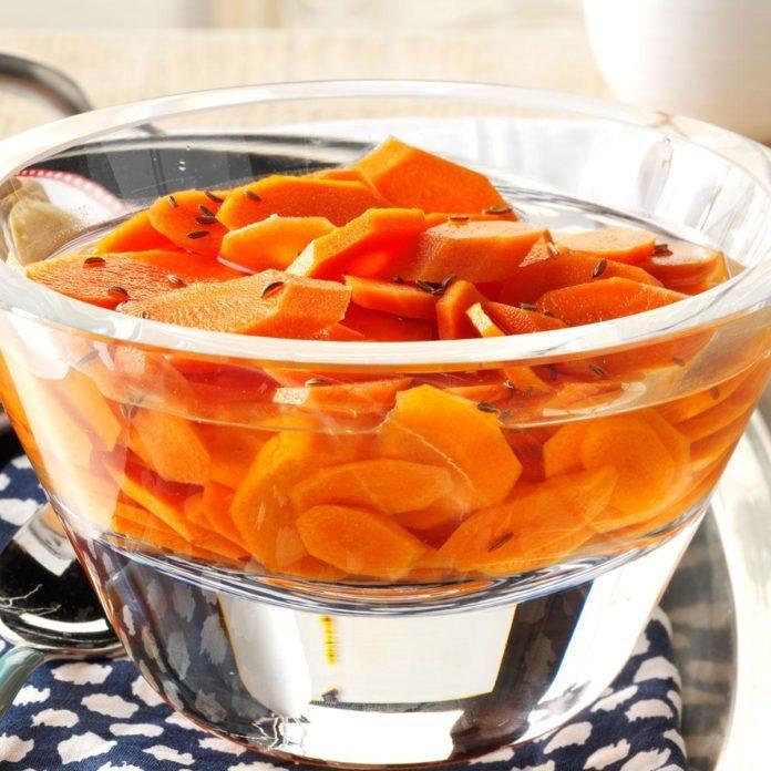 Belarus Pickled Carrots