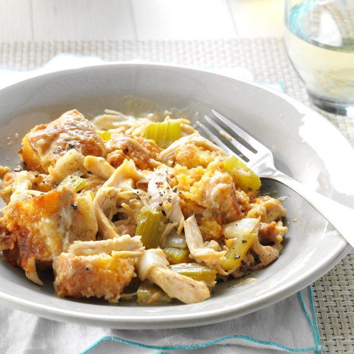 Day 27: Chicken Cornbread Casserole