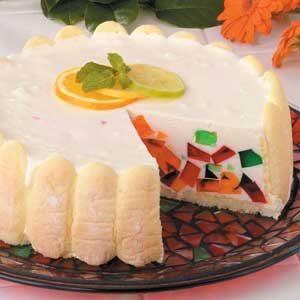 Jeweled Gelatin Torte