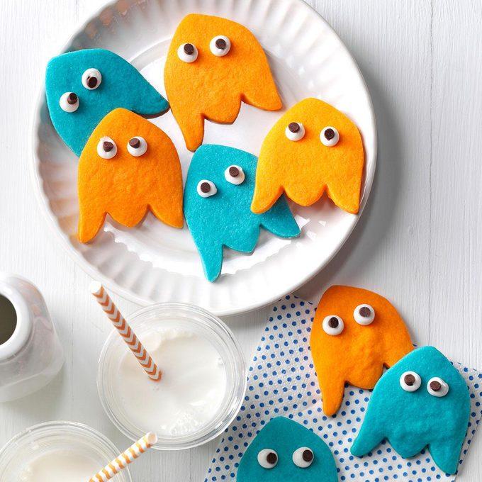 Sweet Treat: Ghost Shortbread Cookies
