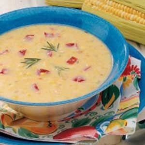 Rosemary Corn Soup