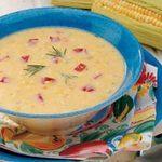 Rosemary Corn Soup