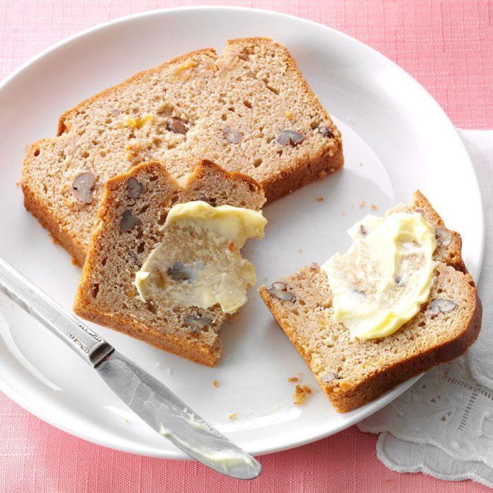 English Marmalade Pecan Bread