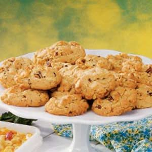 White Chocolate Chip Hazelnut Cookies