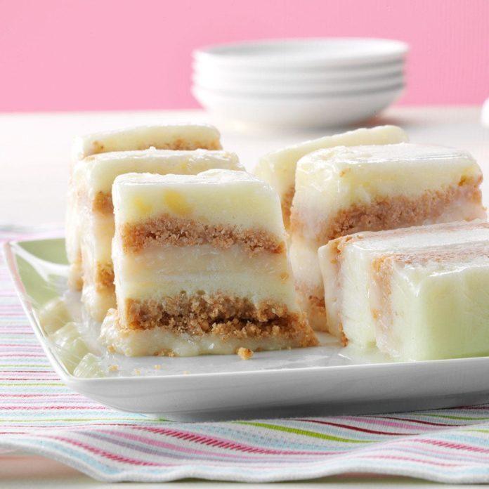 Coconut-Pineapple Sherbet Torte