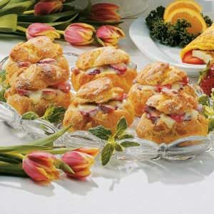 Strawberry-Lemon Cream Puffs