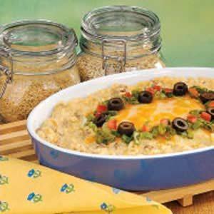 Southwestern Rice Bake