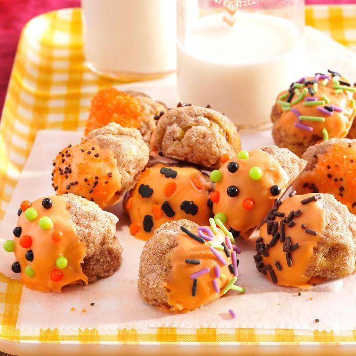 Spiced Pumpkin Doughnut Bites