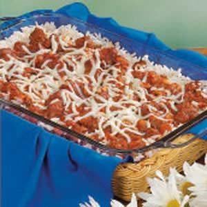 Pizza Rice Casserole
