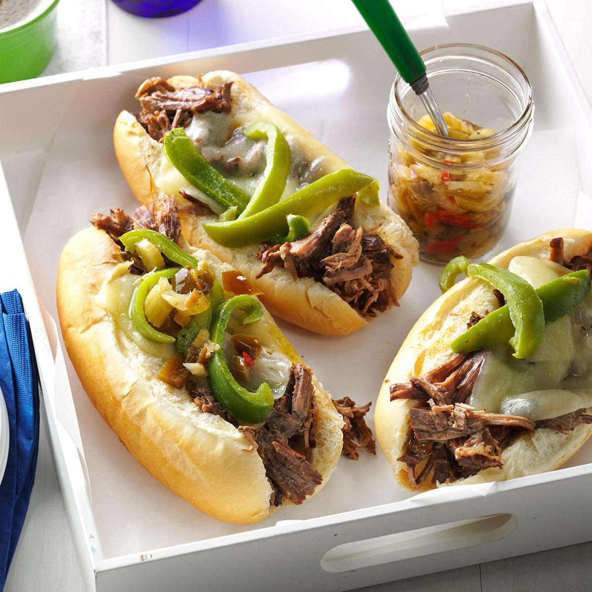 Inspired by: Portillo's Italian Beef Sandwich