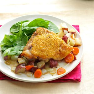 Easy Chicken and Potatoes
