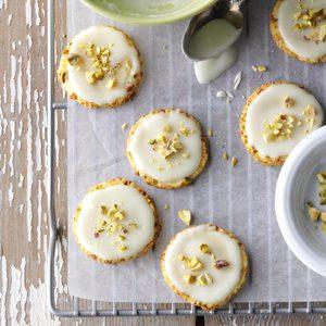 Orange Pistachio Cookies