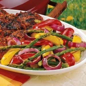 Special Grilled Veggies