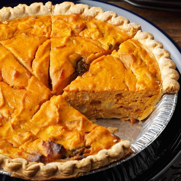 Hawaii: Savory Pumpkin Quiche