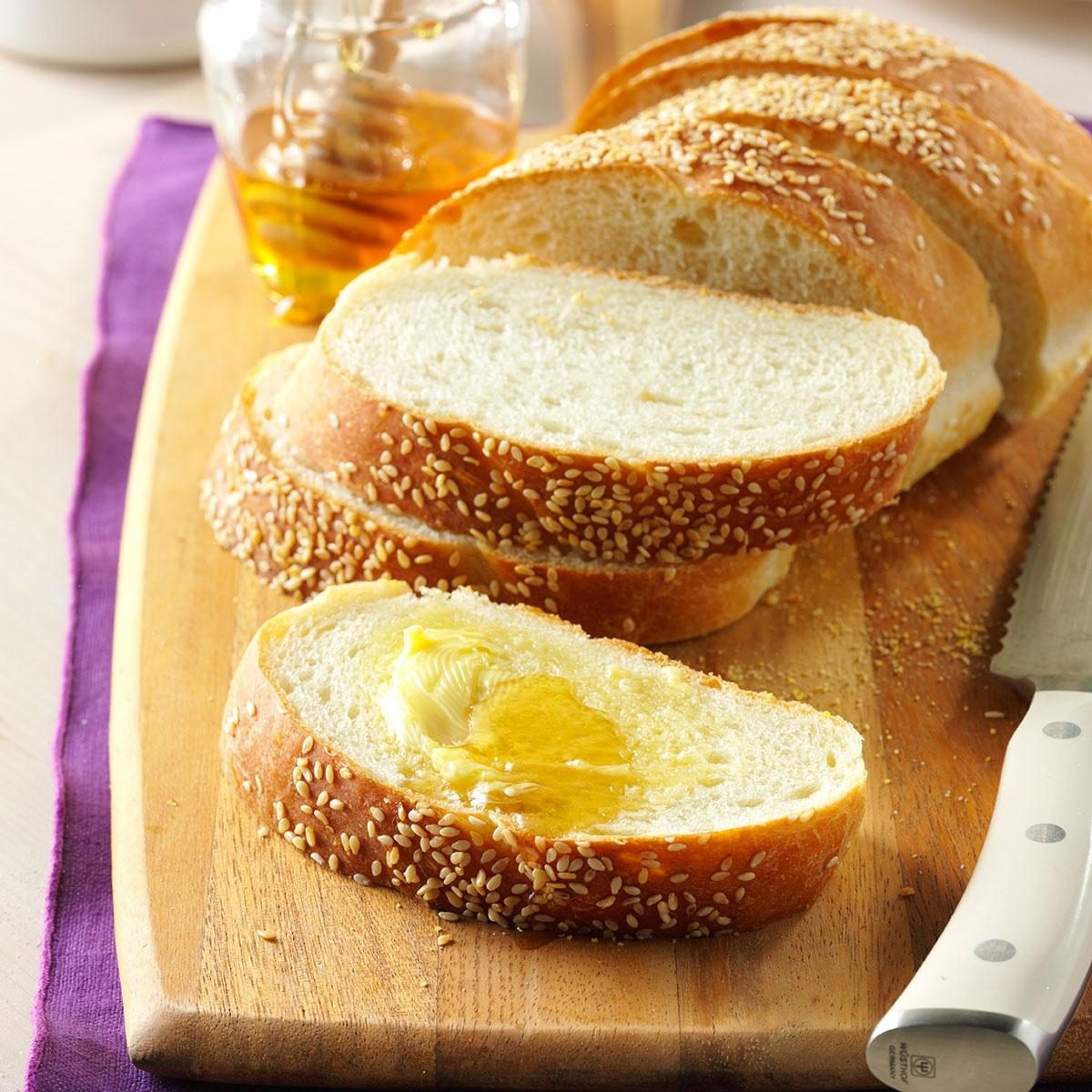 Sesame French Bread