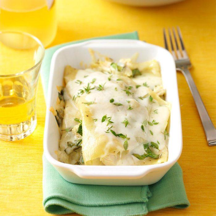 Chicken & Spinach Lasagnas