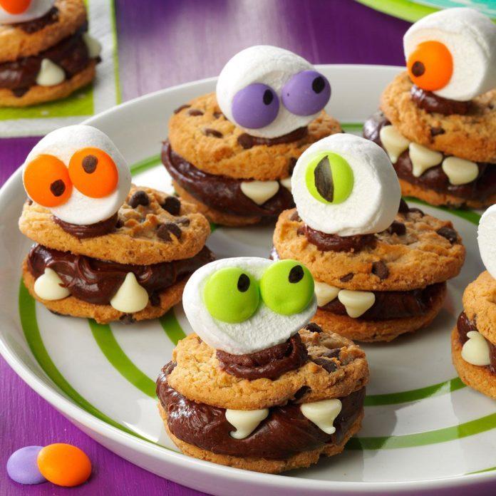 Virginia: Halloween Monster Cookies
