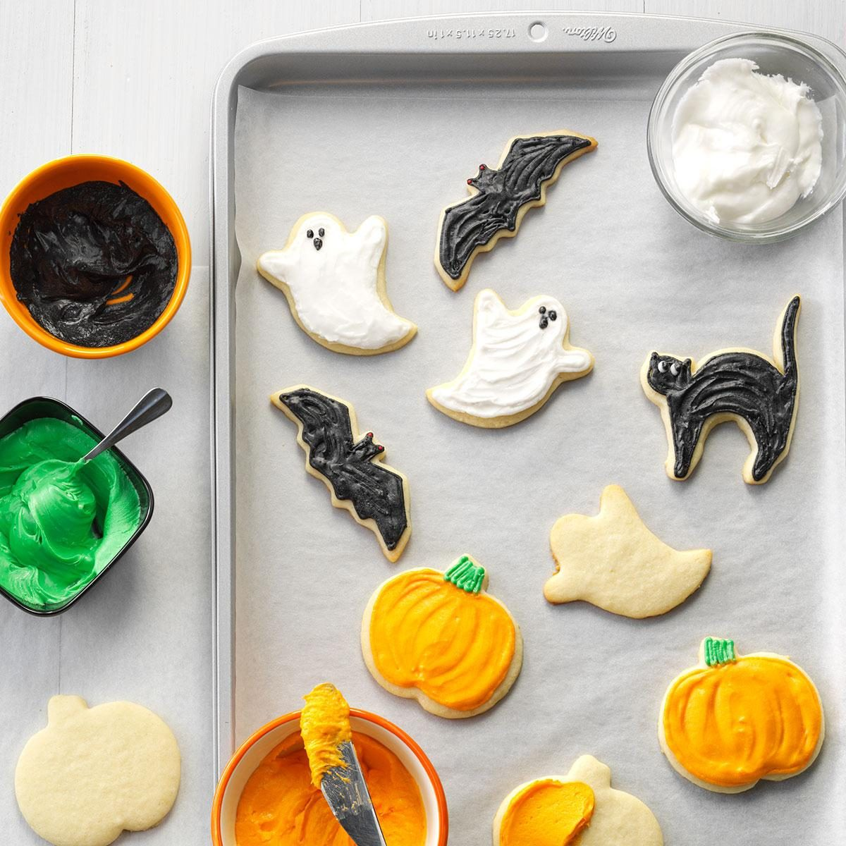 Halloween Party Cutout Cookies Recipe