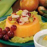 Chicken Salad in Melon Rings