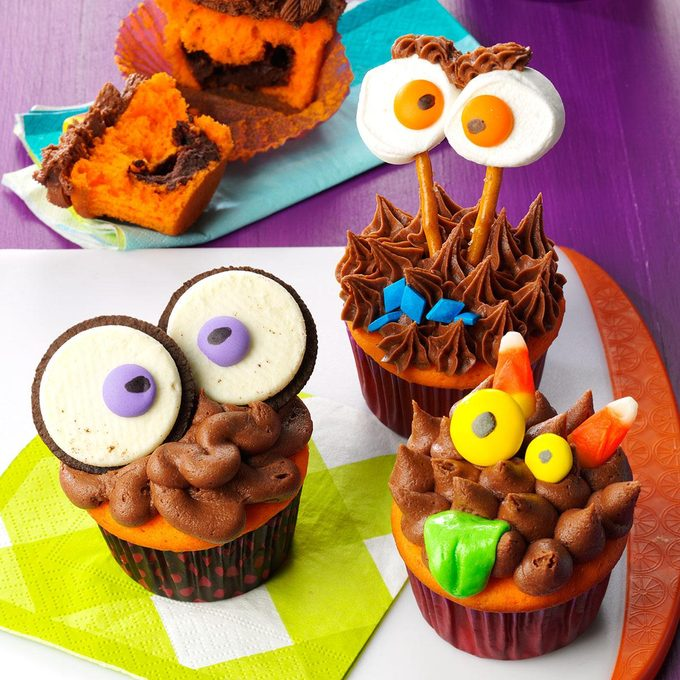 Truffle-Filled Cupcakes
