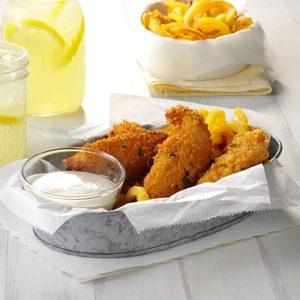 Crispy Sage Chicken Tenders