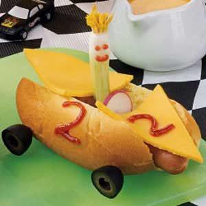 Hot Dog Race Cars