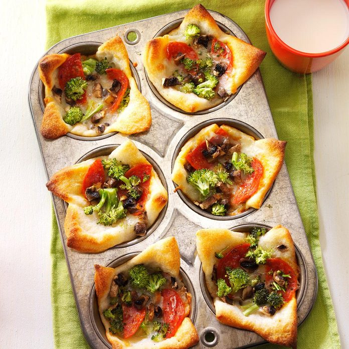 October 13: Muffin Tin Pizzas