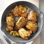 Chicken & Garlic with Fresh Herbs