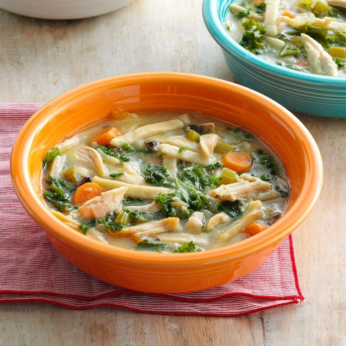 Homey Chicken Noodle Soup