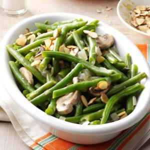 Easy Green Beans with Mushrooms