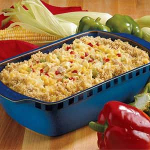 Pork and Corn Casserole