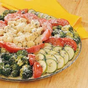 Herbed Veggie Platter