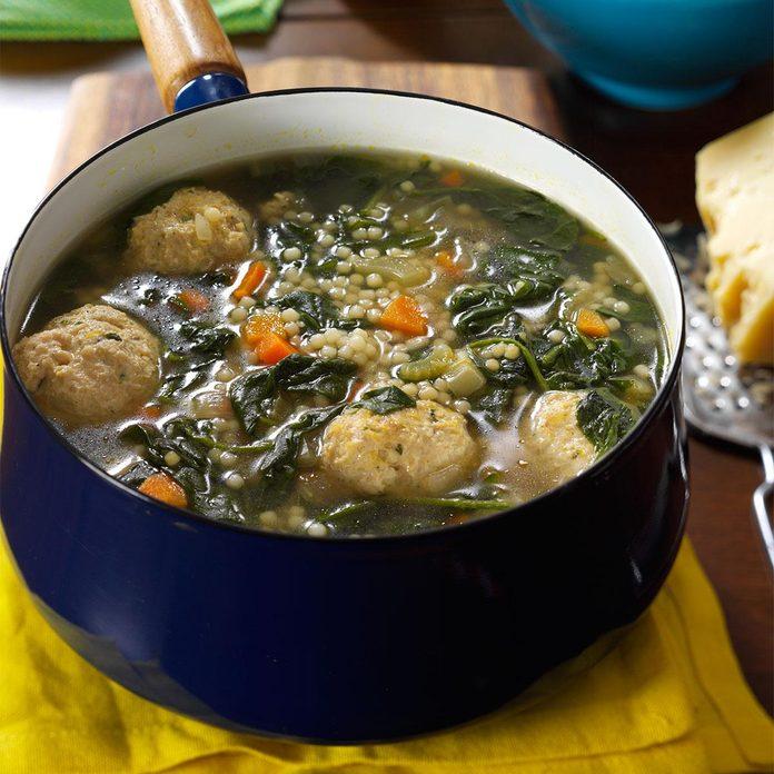 Day 25: Christina's Italian Wedding Soup