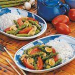 Asparagus Tomato Stir-Fry